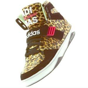 Adidas Originals Leopard RARE Hi Tops Sneakers 7.5